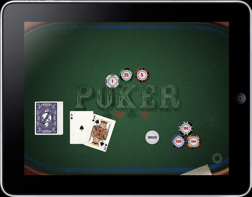 Game Table Screenshots.